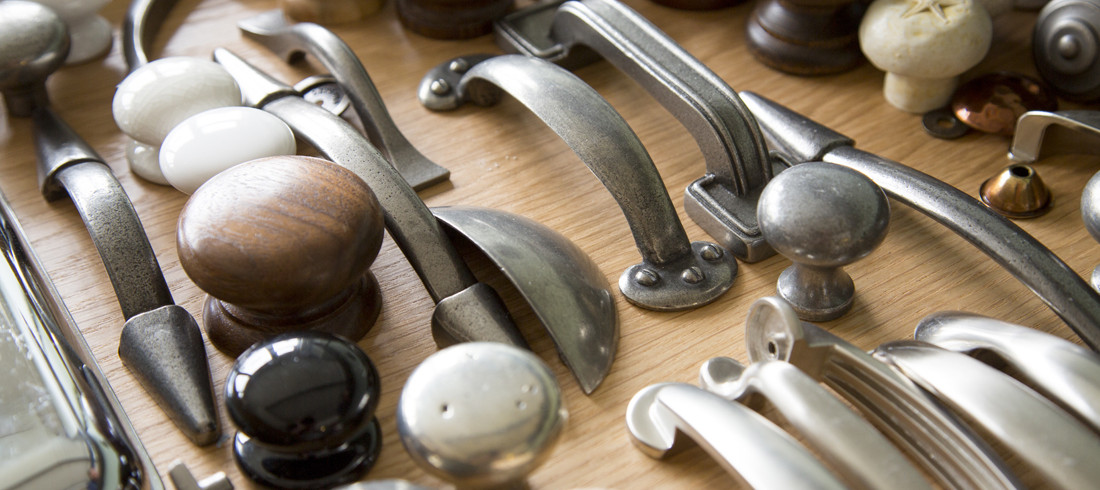 collection of beautiful cupboard handles and knobs