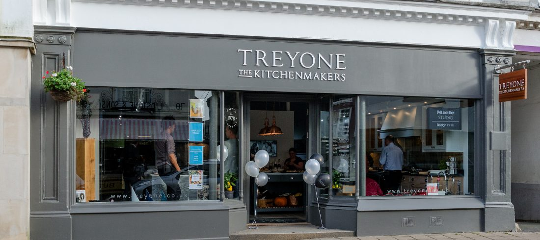 Treyone Kitchen Showroom in Kingsbridge